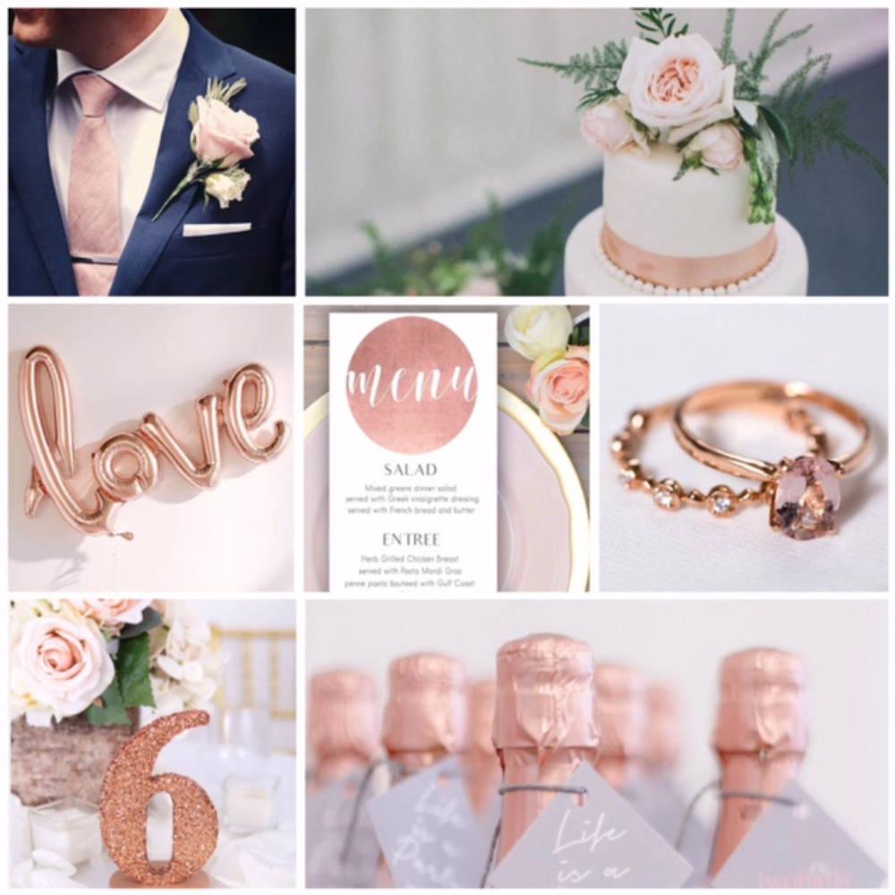 Ragyogó esküvő, avagy a pompás rose gold