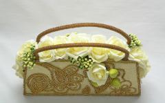 Virágözön - örök téma a menyasszonyi csokor